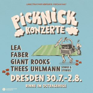 Picknick Konzerte Dresden 2020